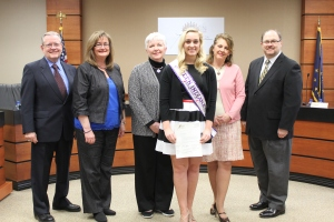 Katelynne Recognized by the Avon Community School Board